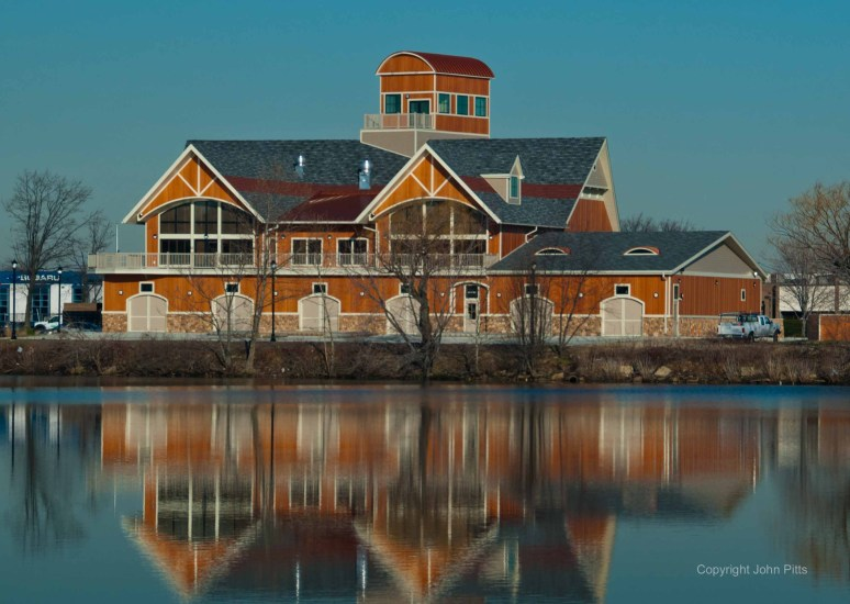Boathouse at Cooper River